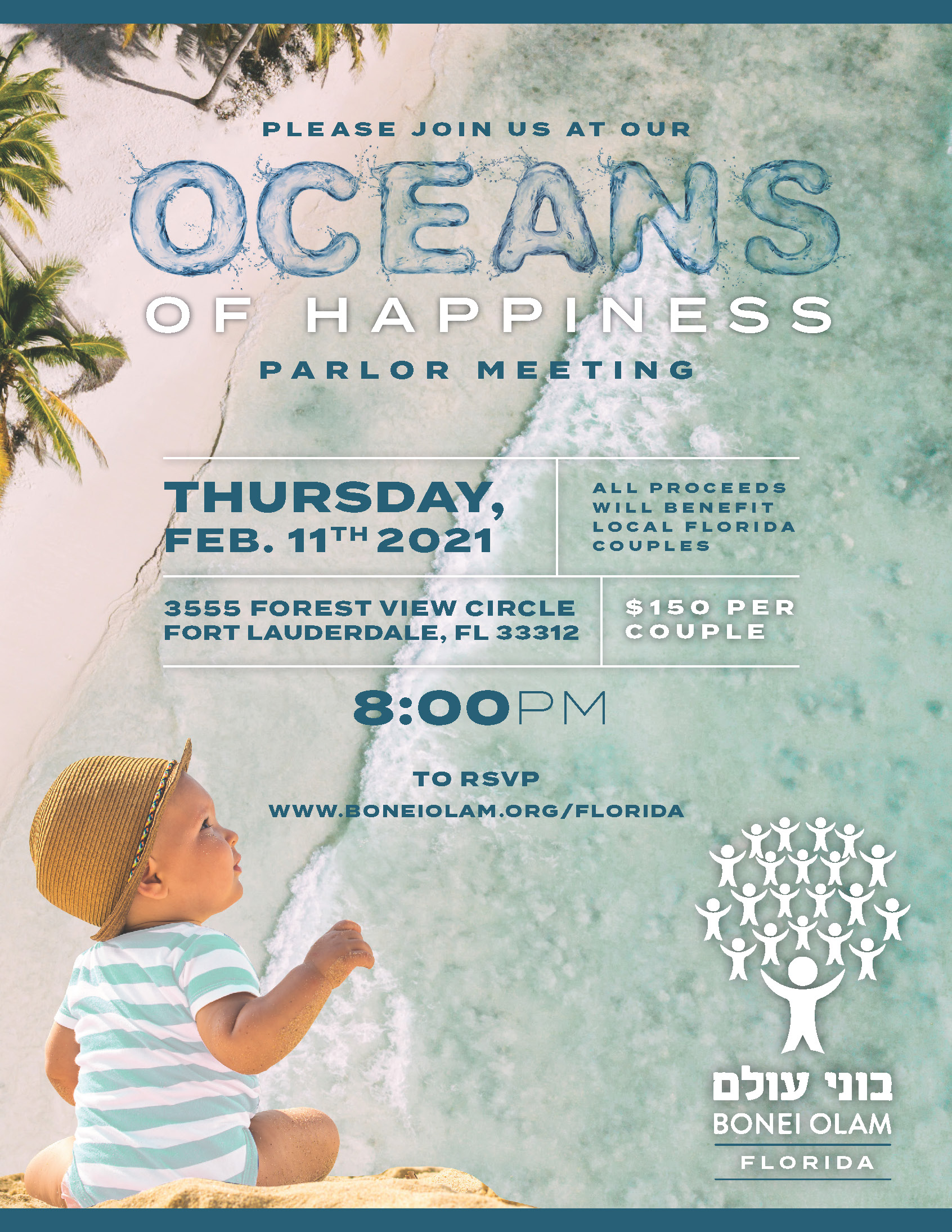 "Florida Parlor Meeting ""oceans of happiness"""