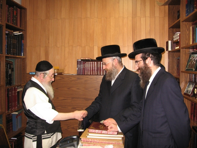 Rabbi Avrum Chaim Spitzer ZL